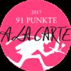 Logo des Weinmagazins Alacarte mit Punkten