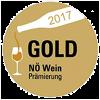 Button der Goldprämierung Niederösterreich Wein